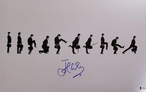 John Cleese - Signed 11x17 Ministry of Silly Walks Mini Poster