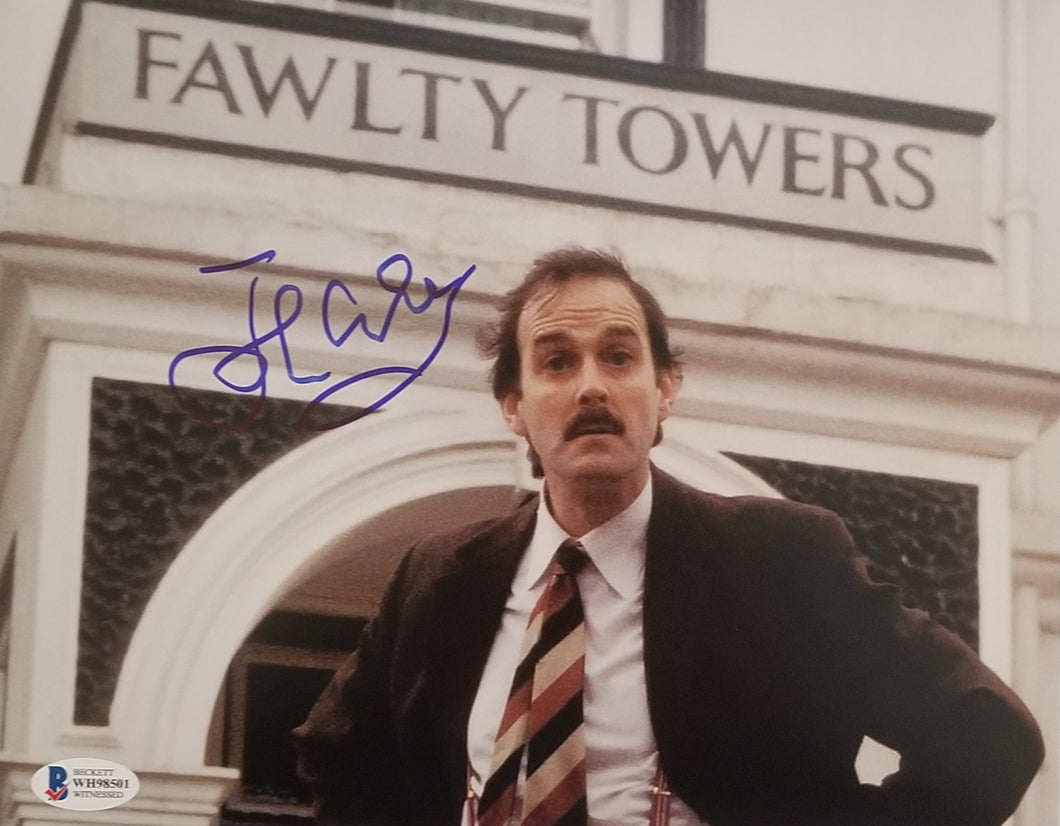 John Cleese - Signed 8x10 Fawlty Towers Photo
