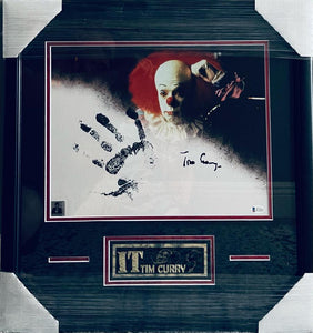 Tim Curry - Signed 11x14 Hand Print