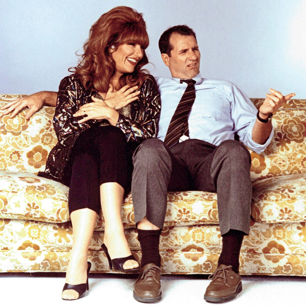 Ed O'Neill and Katey Sagal - Dual Signed Married...with Children Image #1 (8x10,11x14)