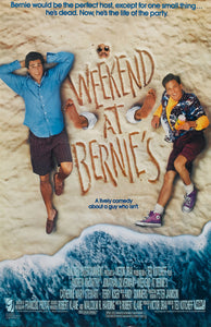 Andrew McCarthy - Signed Weekend at Bernie's Mini Movie Poster (8x10, 11x17)