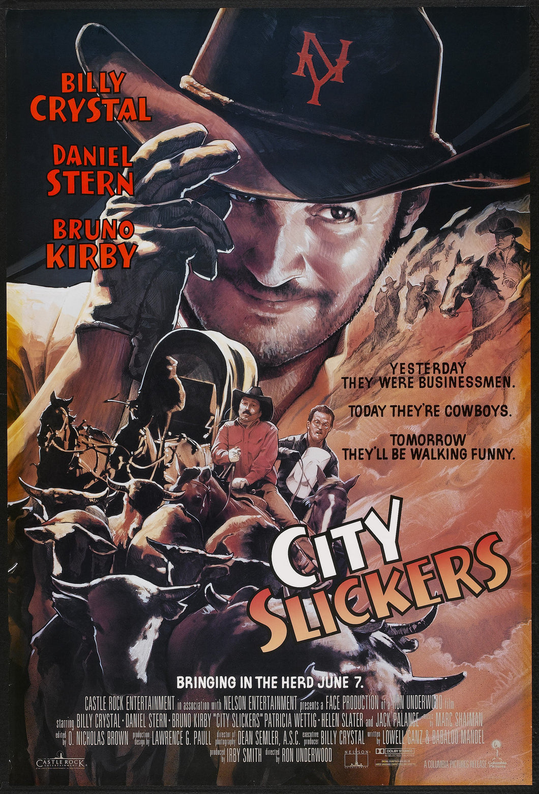 Daniel Stern - Signed City Slickers Image #7 (8x10, 11x17)