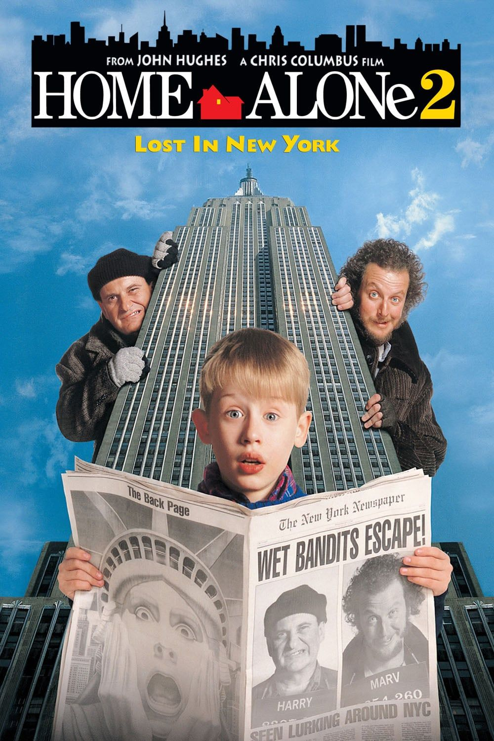 Devin Ratray - Signed Home Alone 2 Movie Poster Image (8x10, 11x17)