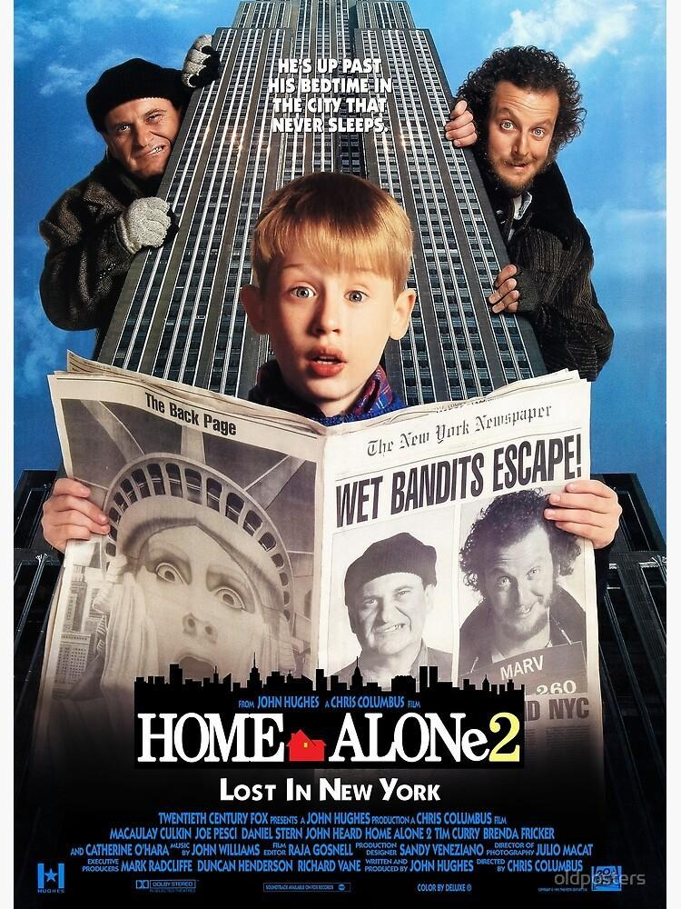 Tim Curry - Signed Home Alone 2 Movie Poster