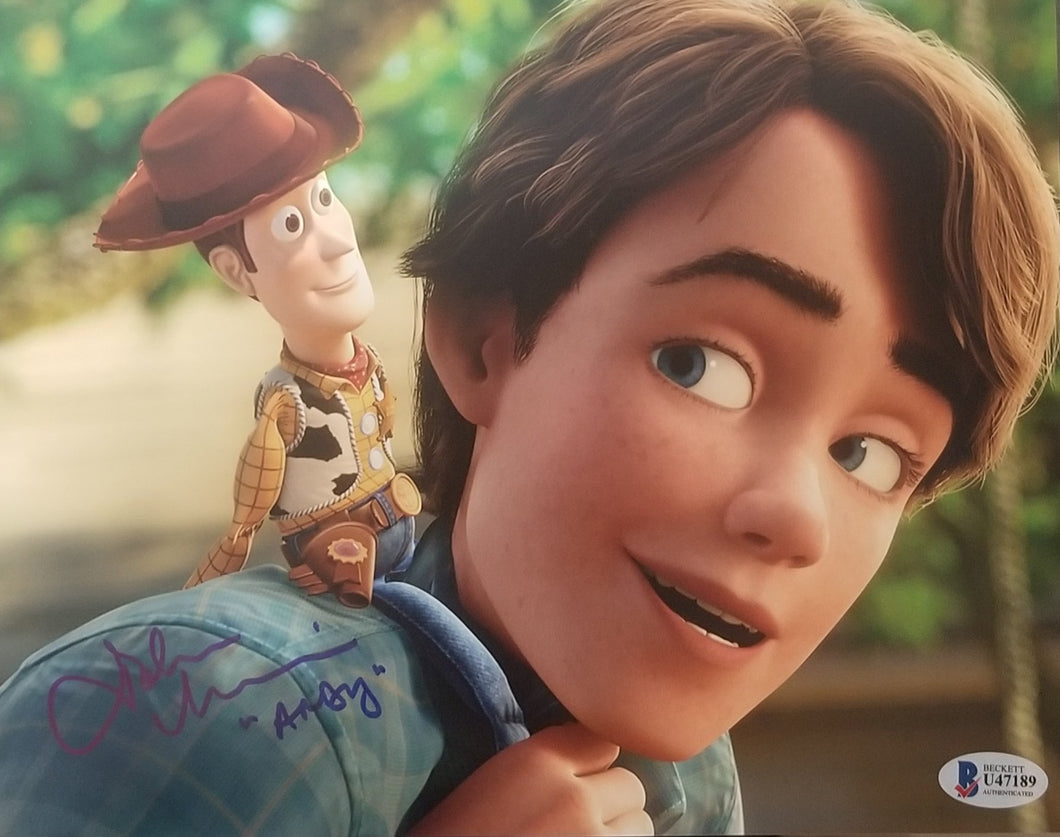 John Morris - Signed Andy 8x10 Photo Toy Story #5