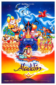 Scott Weinger and Linda Larkin - Dual Signed Aladdin Image (8x10, 11x17)