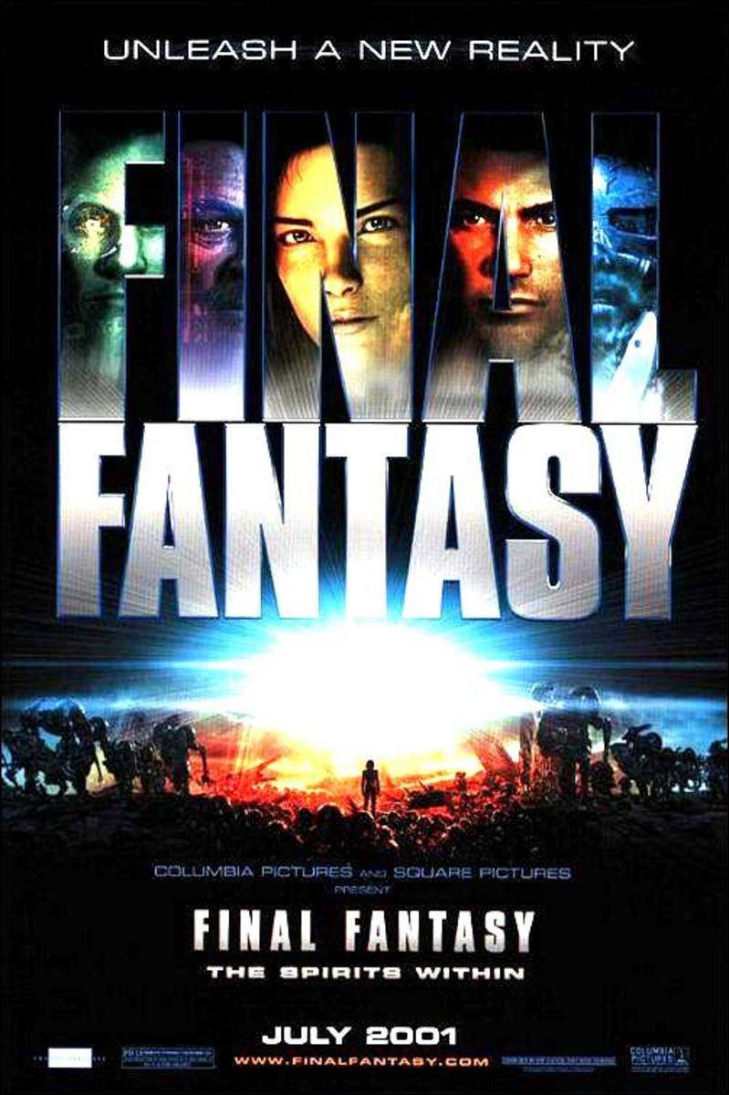 Ming-Na Wen - Signed Final Fantasy Mini Movie Poster (8x10, 11x17)