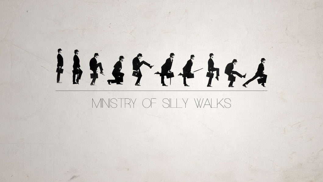 John Cleese - Ministry of Silly Walks