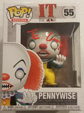 Load image into Gallery viewer, Signed IT Pennywise Funko POP!