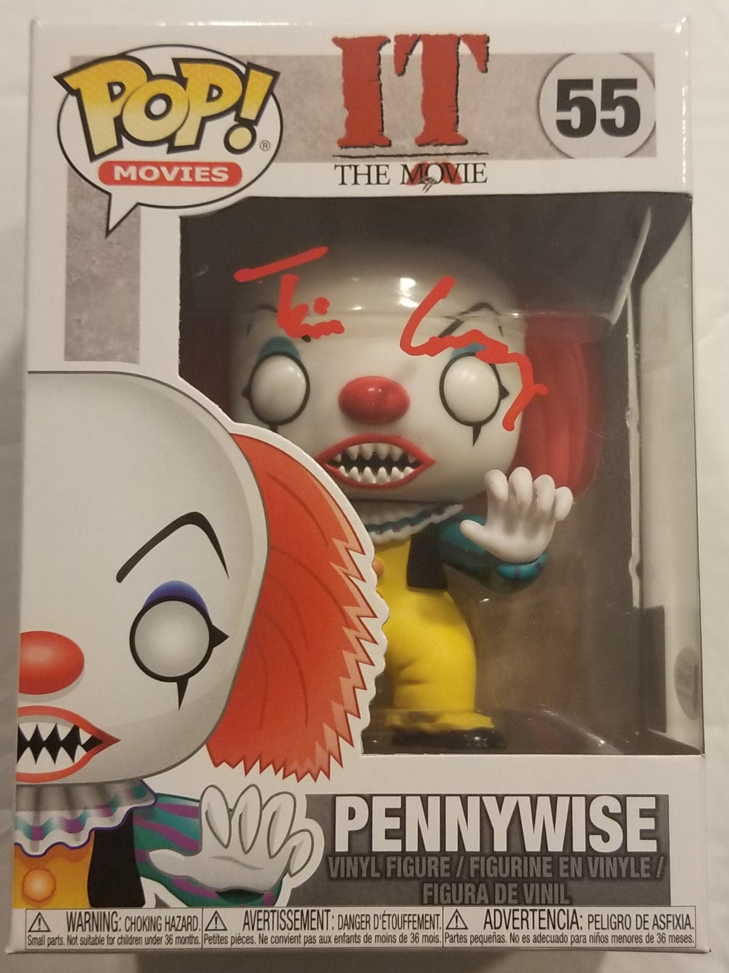 Signed IT Pennywise Funko POP!