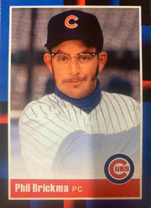 Daniel Stern - Signed Phil Brickma Rookie of the Year Trading Card