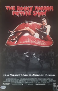 Tim Curry - Signed The Rocky Horror Picture Show Image #5 (11x17)
