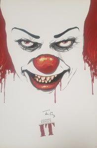 Tim Curry - Signed IT Lithograph