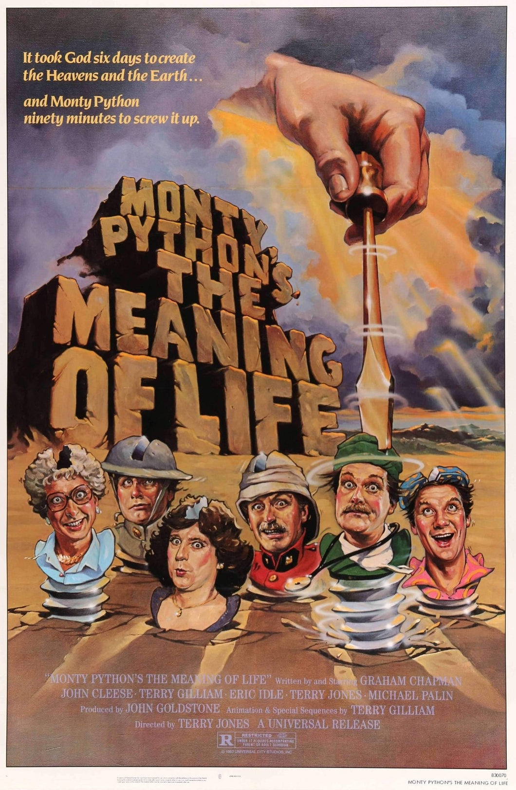John Cleese - The Meaning of Life Poster