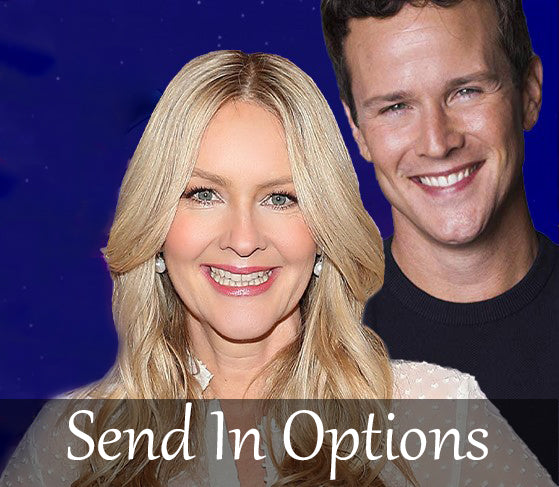 Scott Weinger and Linda Larkin - Dual Signed Send In Options