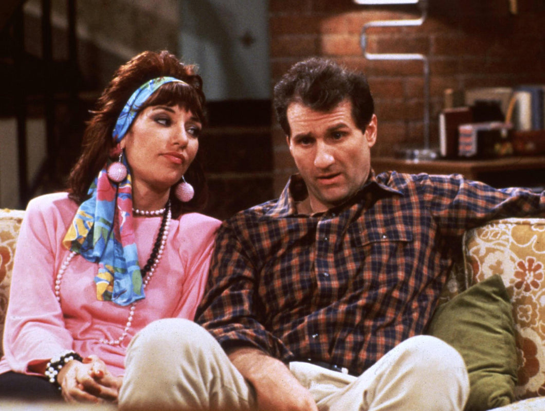 Ed O'Neill and Katey Sagal - Dual Signed Married...with Children Image #4 (8x10, 11x14)