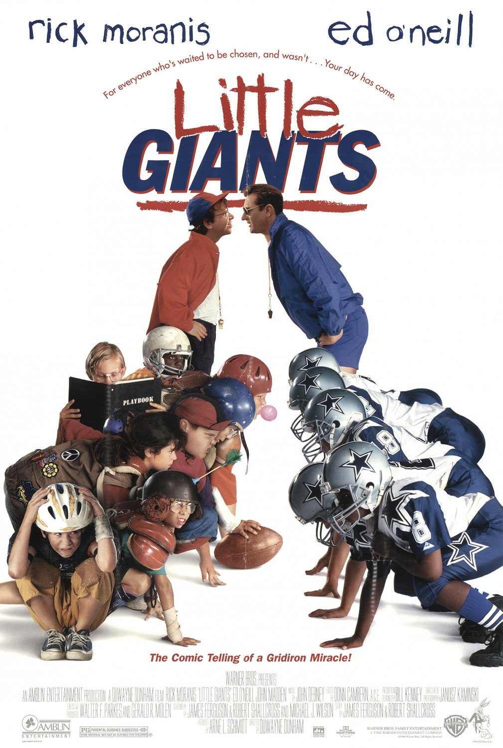 Ed O'Neill Signed Little Giants Image (8x10, 11x17)