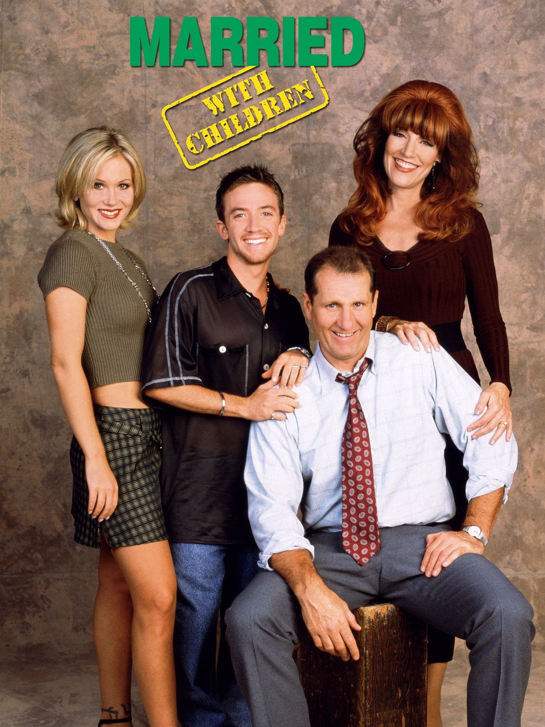 Ed O'Neill, Katey Sagal, David Faustino and Christina Applegate - Quad Signed Married...with Children Image #5 (8x10, 11x14, 16x20)