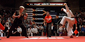 Karate Kid Cast - Signed Tournament Image (8x10, 11x14, 16x20)
