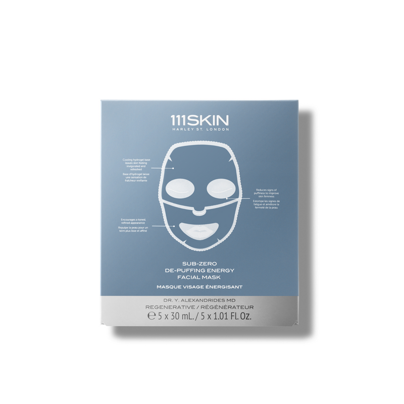 111SKIN Sub-Zero De-Puffing Energy Facial Mask (Set of 5)