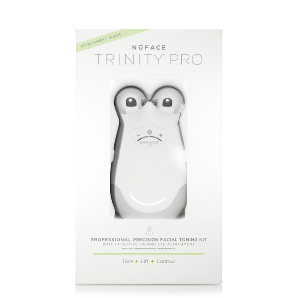NuFACE Trinity Pro Facial Toning Kit + ELE Attachment