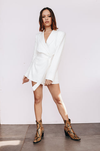 the zoe blazer dress