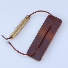 Load image into Gallery viewer, Genuine Leather Notebook Closer Protective Leather Piece New With Repair Rubber Band For Handmade Travel Journal Accessories