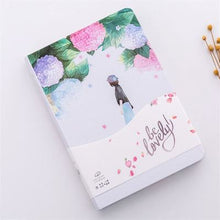 Load image into Gallery viewer, New Creative Small fresh Floral Illustration Notebook Stationery Diary Weekly Planner 32K Journal Sketchbook Agenda