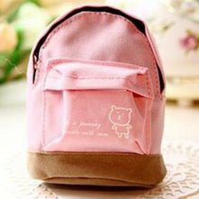 Load image into Gallery viewer, Women Mini Coin Floral Tassels Wallet  School Hangbag Hangable Card Backpack  Bag Keys Case Travel Organizer