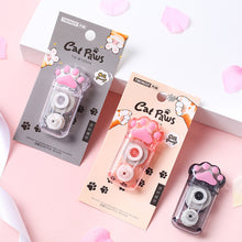 Load image into Gallery viewer, 1Pc 5mm*6m Cute Cartoon Correction Tape Kawaii Cat Paw Correction Tool For Kids Gifts School Stationery Correction Supplies