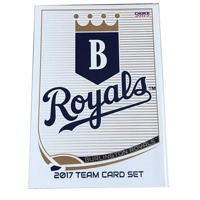 Burlington Royals 2017 Team Card Set
