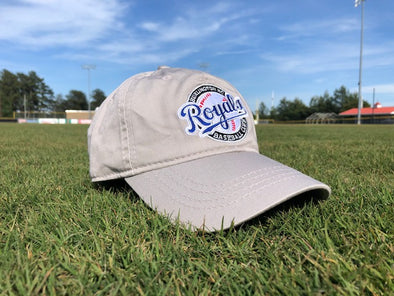 Burlington Royals Tan Adjustable Hat