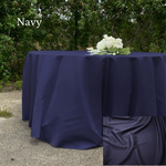 Load image into Gallery viewer, Navy Polyester - Liberty Luxury Linen