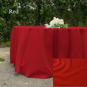 Red Polyester - Liberty Luxury Linen