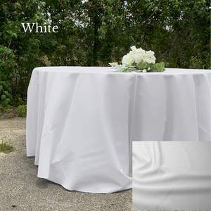 White Polyester - Liberty Luxury Linen