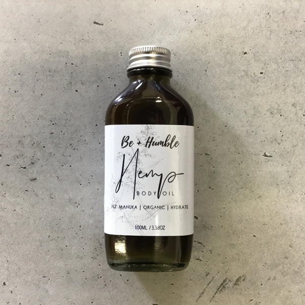 Hemp & Manuka Body Oil