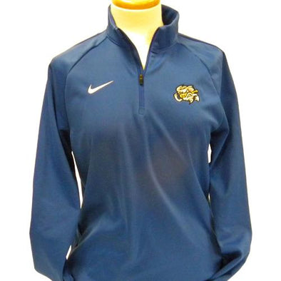 Omaha Storm Chasers Women's Nike Royal Therma 1/4 Zip