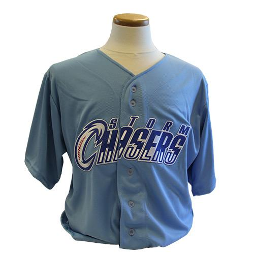 Omaha Storm Chasers Replica Powder Blue Alternate Jersey