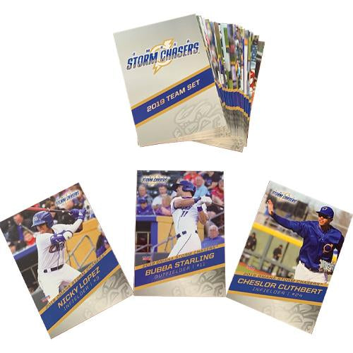 2019 Omaha Storm Chasers Team Card Set