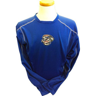 Omaha Storm Chasers Men's Augusta Royal Edge Pullover