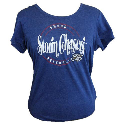 Omaha Storm Chasers Women's 47 Circle Vortex Scoop Tee