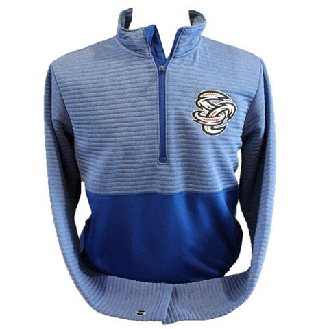 Omaha Storm Chasers Men's Holl Royal 3D Regulate Pullover