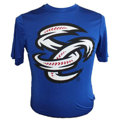 Omaha Storm Chasers Men's Russell Royal SC Performance Tee