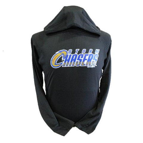 Omaha Storm Chasers Women's Holl Black 3D Regulate Lt. Wt. Pullover