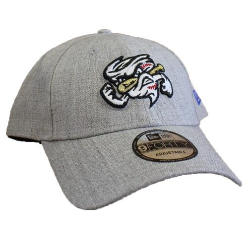 Omaha Storm Chasers New Era 9Forty Grey/Royal Snapped Heather
