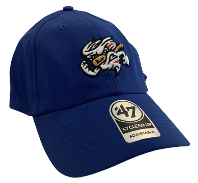 Omaha Storm Chasers 47 Royal Repetition Vortex Cleanup Cap