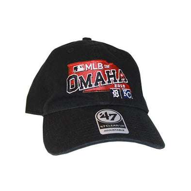 Omaha Storm Chasers Kansas City Royals MLB in Omaha 47 Brand Cleanup Hat