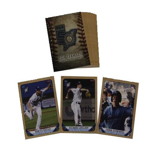 2018 Omaha Storm Chasers Team Card Set