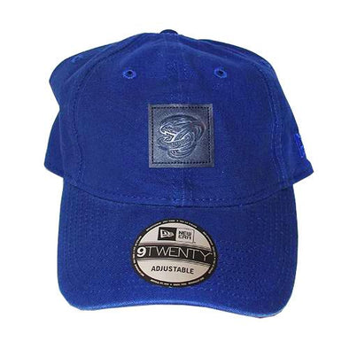 Omaha Storm Chasers New Era 9Twenty Leather Patch Cap