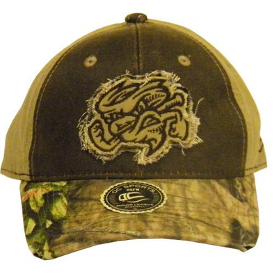 Omaha Storm Chasers OC Brown/Khaki Dirt Dog Cap